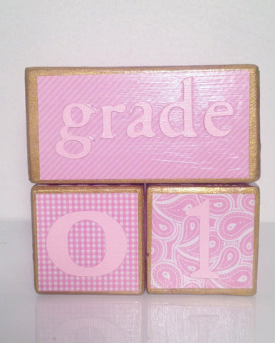 Nursery Photo Blocks- Royal Princess