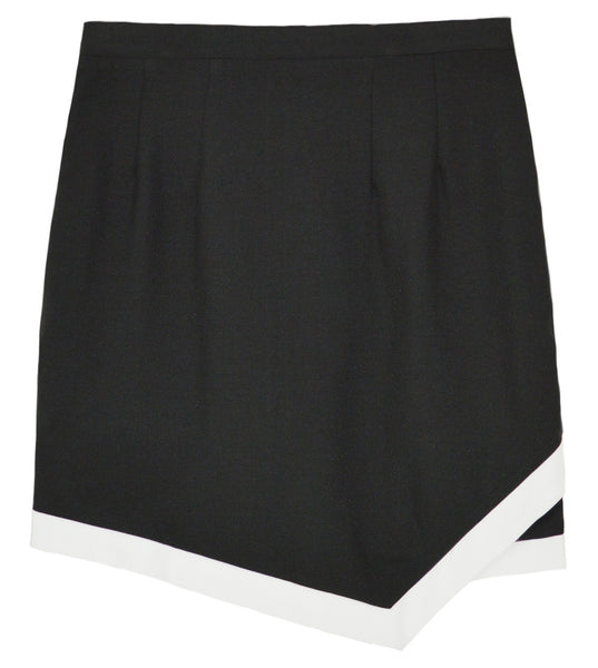 ZEA Contrast Detailed Wrap Skirt