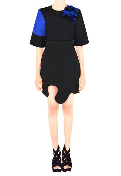 JANA Cut-Out Pencil Skirt