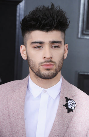 Zayn Malik Grammy Awards 2018 Hairstyle Newmen
