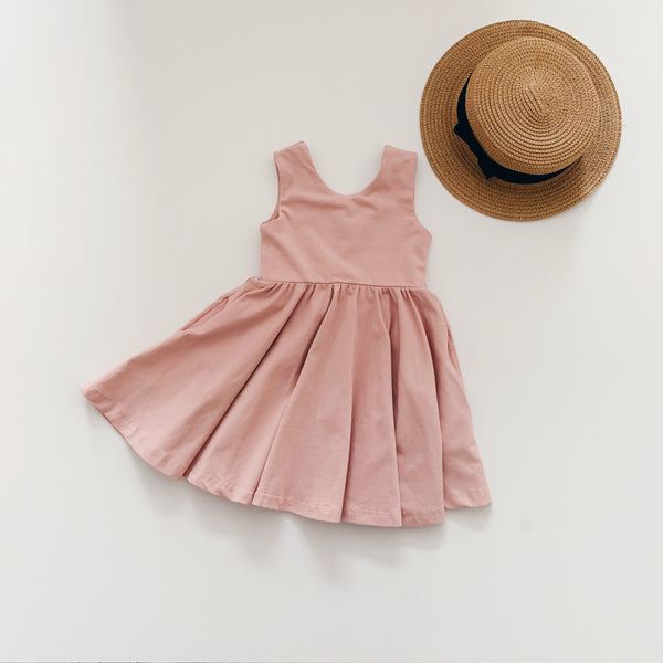 Tank Top Dress - Earthy Pink