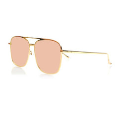 GENEVA LARGE (Gold Metal, Pink Mirror Lens)