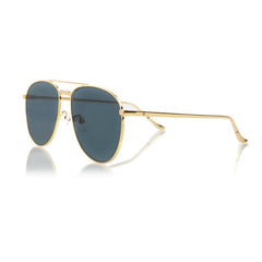 MIAMI LARGE (Gold Metal, Grey Lens)