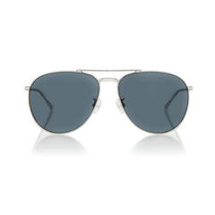 MIAMI LARGE (Silver Metal, Grey Lens)