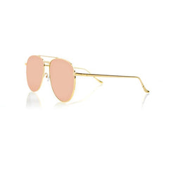 MIAMI (Gold Metal, Pink Mirror Lens)