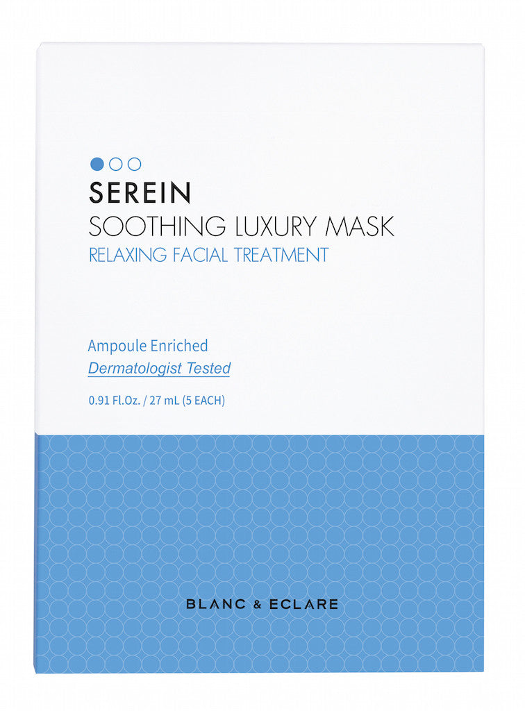 Serein Soothing Luxury Mask (5-Pack)