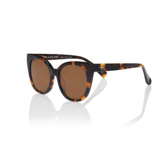 MONACO (Honey Tortoise with Solid Brown Lens)
