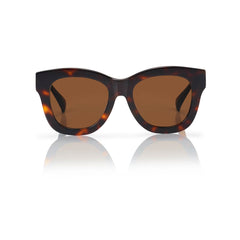 ROME (Honey Tortoise with Solid Brown Lens)