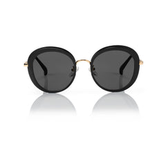 PORTOFINO (Black and Gold Metal with Smog Grey Lens)
