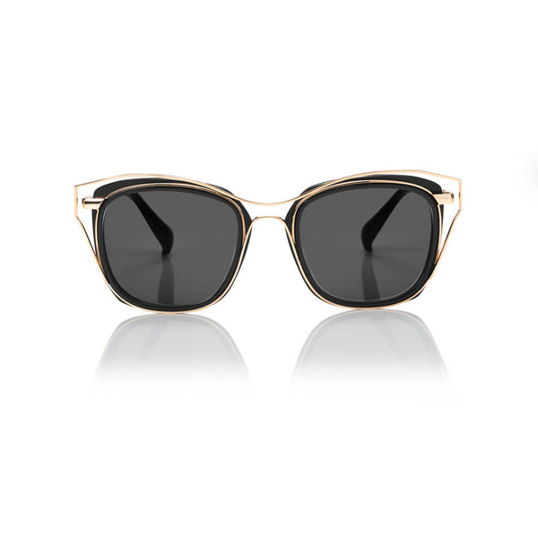 DUBAI (Black and Gold Metal with Smog Grey Lens)