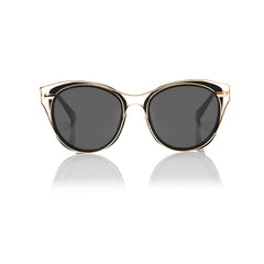 SINGAPORE (Black and Gold Metal with Smog Grey Lens)