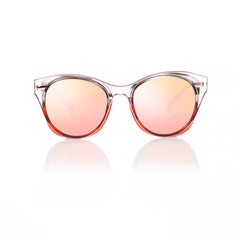 SINGAPORE (Ruby Steel and Pink Metal with Pink Mirror Lens)