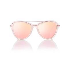 MARRAKESH (Frosted Rose and Pink Metal with Pink Mirror Lens)