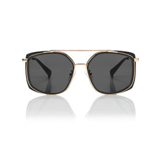 BERLIN (Black and Gold Metal with Smog Grey Lens)