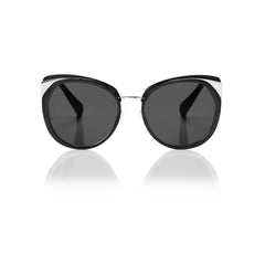 ISTANBUL (Black and Silver Metal with Smog Grey Lens)