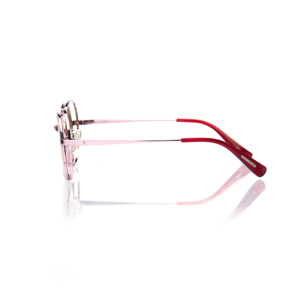 HAVANA (Pink Metal with Pink Mirror Lens)
