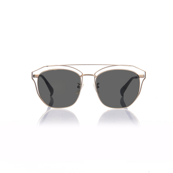 SYDNEY (Matte Silver Metal with  Smog Grey Lens)