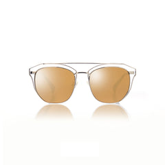 SYDNEY (Silver Metal with Gold Mirror Lens)