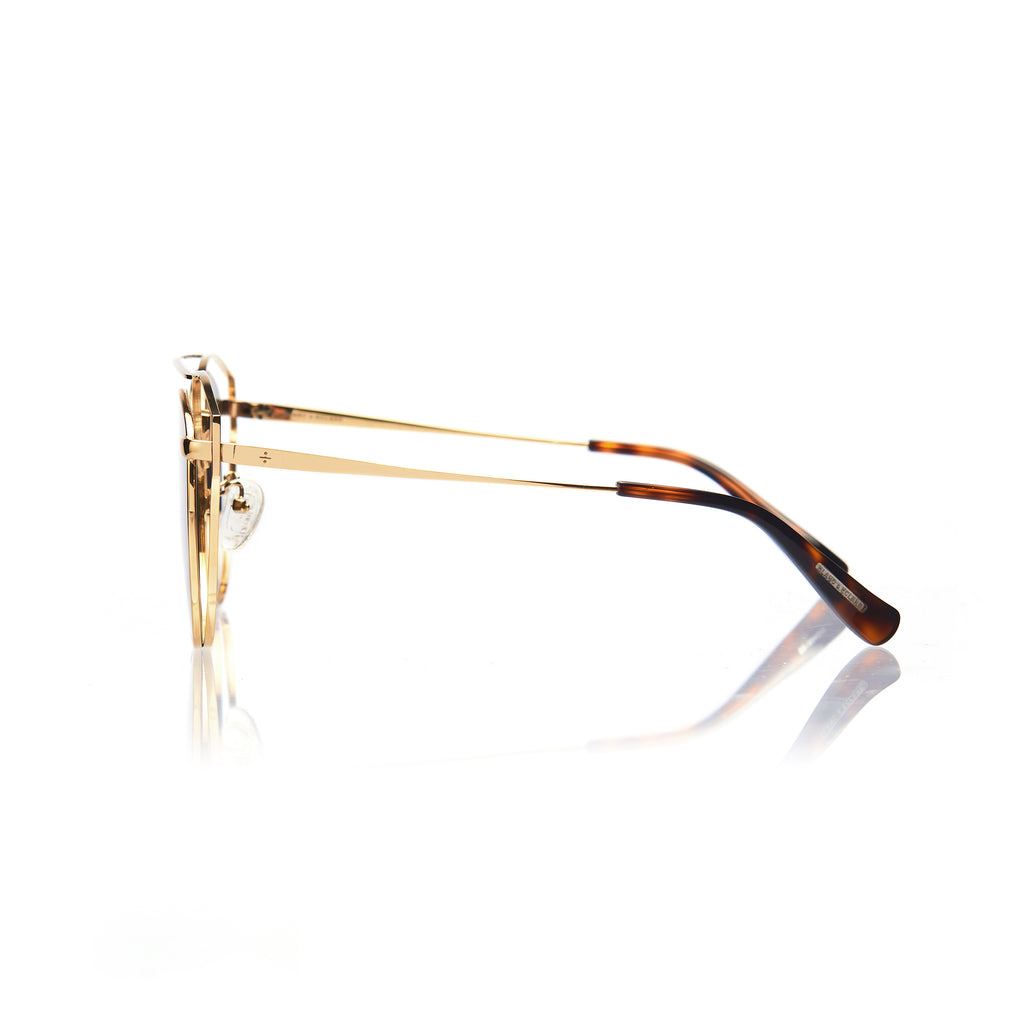 FLORENCE (Gold Metal with Green Lens)
