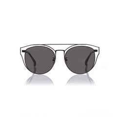 FLORENCE (Matte Black Metal with  Smog Grey Lens)