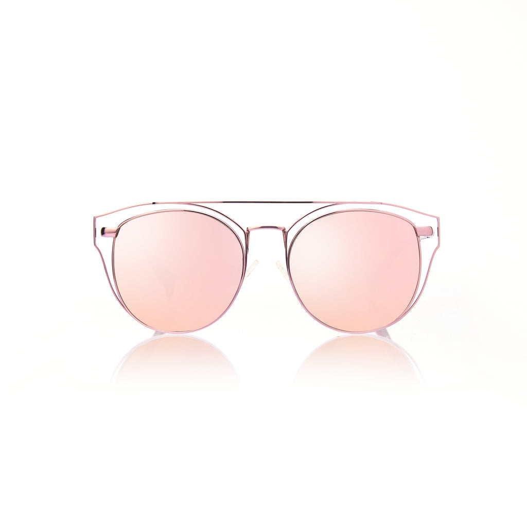 FLORENCE (Pink Metal with Pink Mirror Lens)