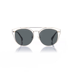 FLORENCE (Silver Metal with Smog Grey Lens)