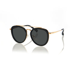 SAO PAULO (Black and Gold Metal  with Green Lens)