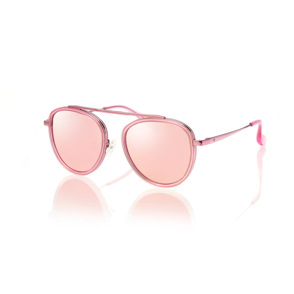 STOCKHOLM (Pink Pearl and Pink Metal with Pink Mirror Lens)