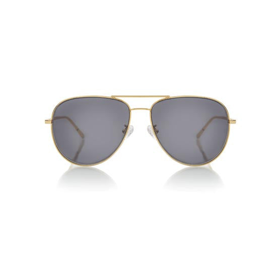VEGAS (Gold Metal, Grey Lens)