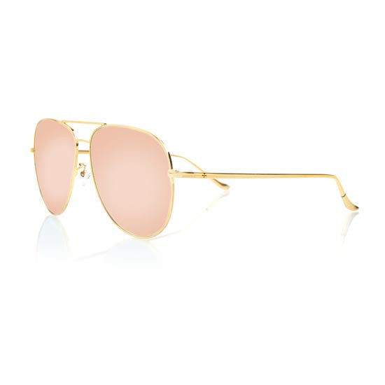 VEGAS LARGE (Gold Metal, Pink Mirror Lens)