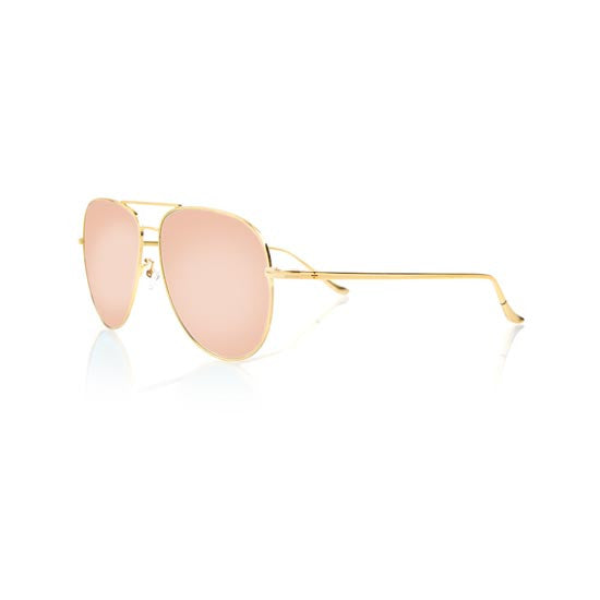 VEGAS (Gold Metal, Pink Mirror Lens)
