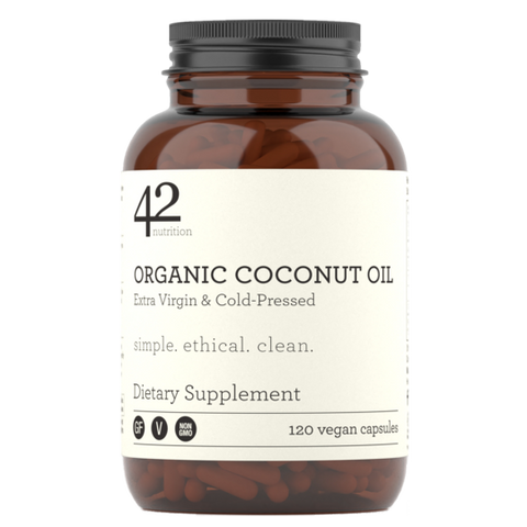 Organic Coconut Oil Capsules: Extra Virgin & Cold-Pressed