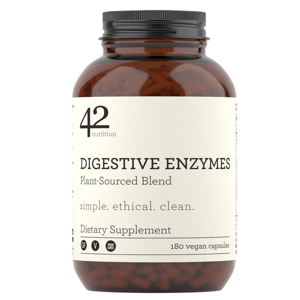 Digestive Enzymes: Plant-Sourced Blend