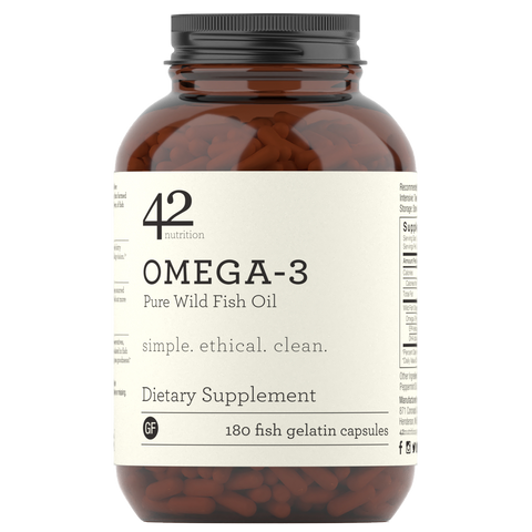 Omega 3: Pure Wild Fish Oil