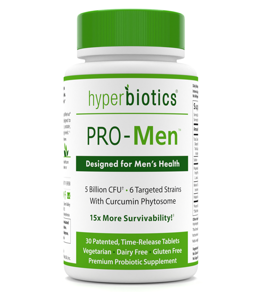 PRO-Men: Time Released with Targeted Strains and Curcumin Phytosome