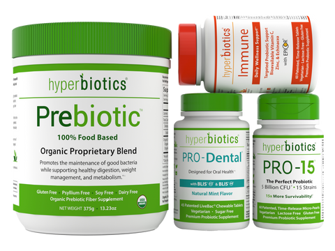 Total Wellness Pack: Overall Microbial Health Support (with FREE Priority Shipping)