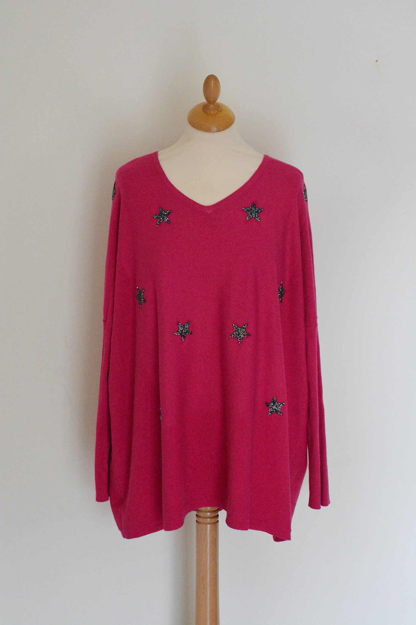 GLITTER STAR JUMPER