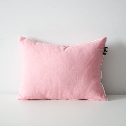 LINEN CUSHION (Pink) by Tikau