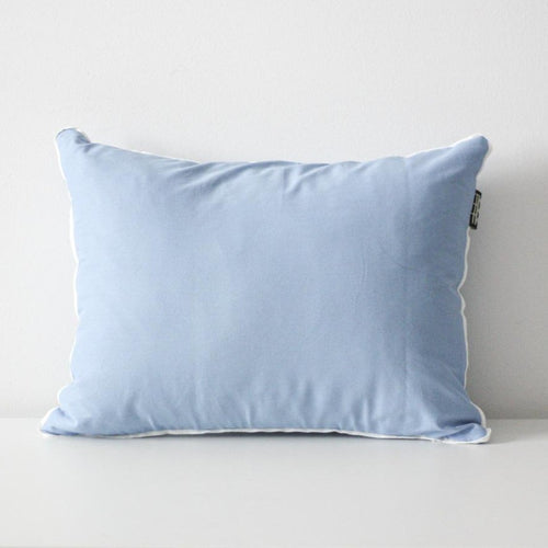 LINEN CUSHION COVER 35x45cm (Sky blue) by Tikau