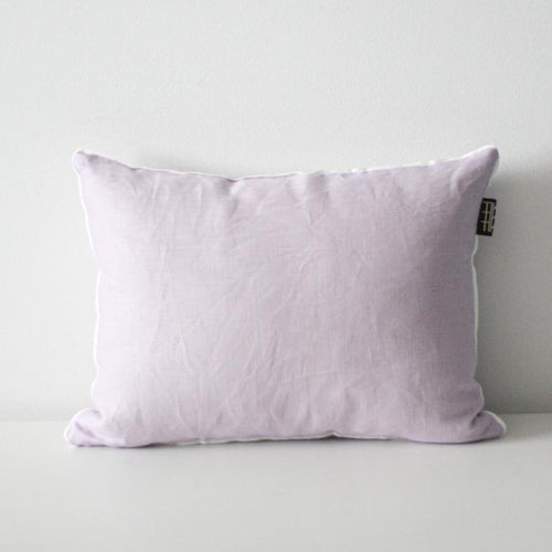 LINEN CUSHION 35x45cm (Lavender) by Tikau