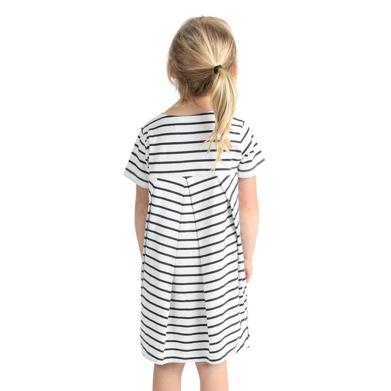 DRESS JANE STRIPE by emma och malena (86- 140 cm)