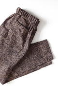 ORGANIC COTTON PANTS by Tikau (Brown/flowers)