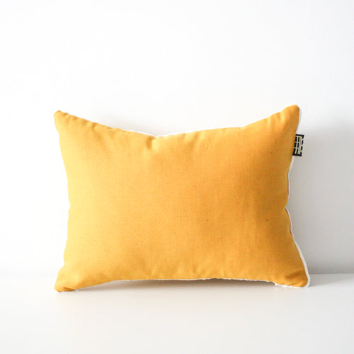 LINEN CUSHION 35x45cm (Mustard) by Tikau