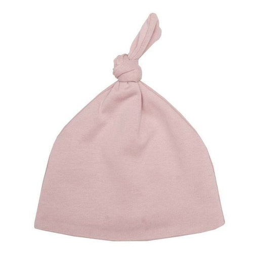 BABY KNOT HAT (Pink) by Wooly Organics