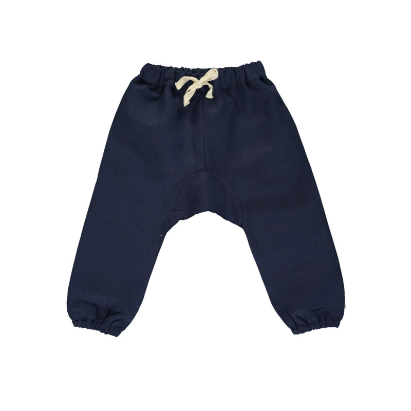ARTHUR TROUSERS by Olivierbaby (Noche linen)