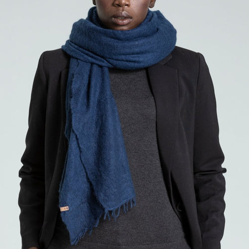 CASHMERE FELTED SCARF by Dinadi