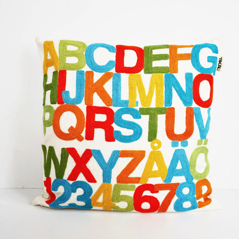 ABC CUSHION COVER by Tikau