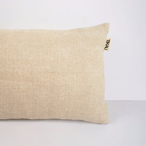 JUTE CUSHION COVER by Tikau