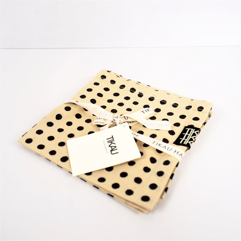NAPKIN DOTS SET
