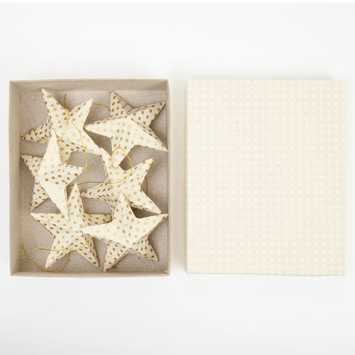 PAPERSTAR Christmas pendant, gold/white by Afroart